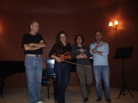 Rehearsal Philharmonic Society – Conservatory of Patras (May 2012)